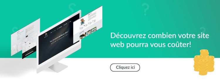 devis site web en ligne