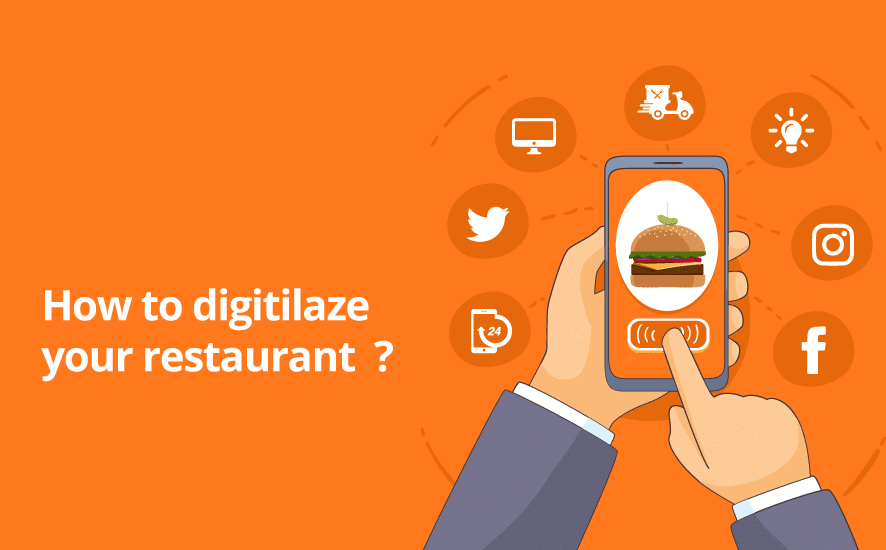 Restaurants digitalization is not a new concept. Yet, it is a concept that grow with the new technologies in order to give restaurants more opportunities to boost their business as restaurant owners.