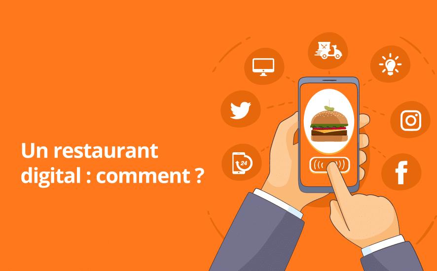 La digitalisation des restaurants n'est pas un nouveau concept. Mais, il reste un concept évolutif avec les nouvelles technologies pour offrir aux restaurants des opportunités afin c'augmenter la rentabilité et le trafic de leurs enseignes.