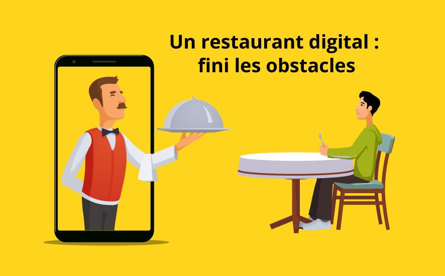 Malgré, les obstacles auxquels fait face le système de restauration en France, beaucoup de motivations et d'opportunités tels qu'un restaurant digital qui peut prendre votre entreprise à un autre niveau.